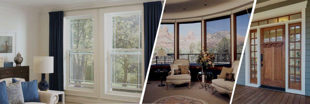 Window and door repair sample